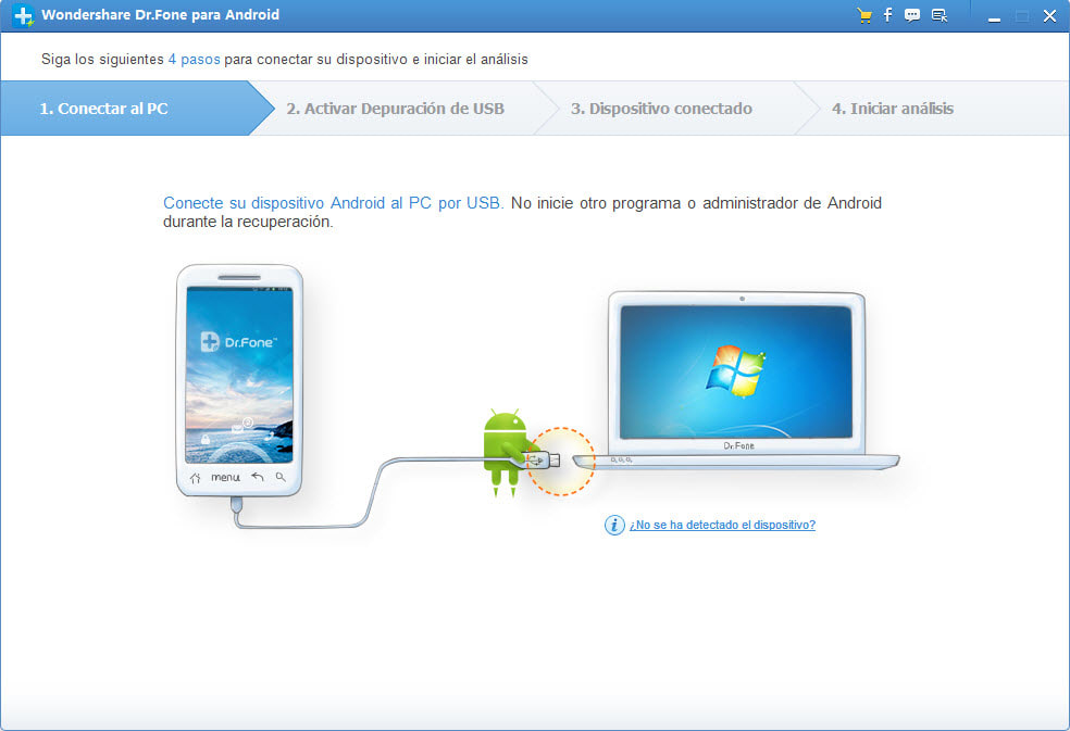 Wondershare Dr. Fone voor Android