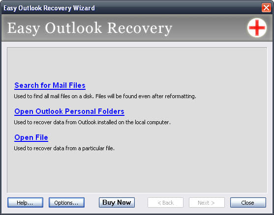 Easy Outlook Recovery