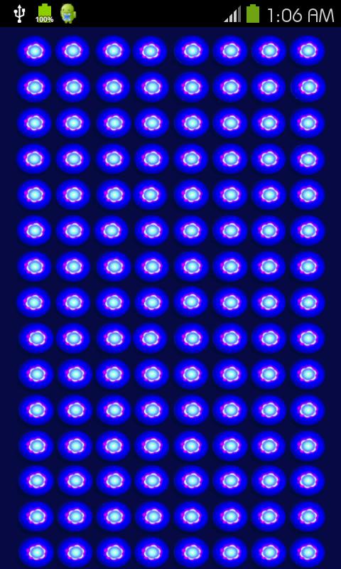 Blacklight UV Lamp Simulator
