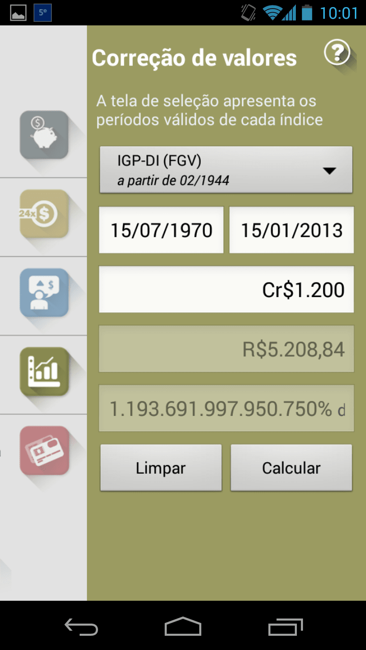 Calculadora do Cidadão