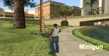 GTA San Andreas: Gears of War Weapons
