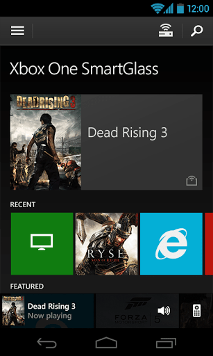 Xbox One SmartGlass na Android