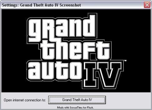Wygaszacz ekranu Grand Theft Auto (GTA) IV