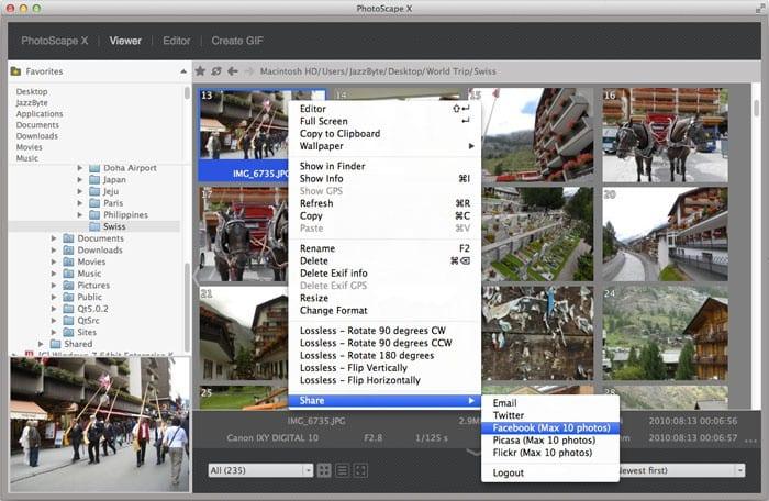 Photoscape X voor Mac