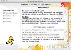 AIM for Mac