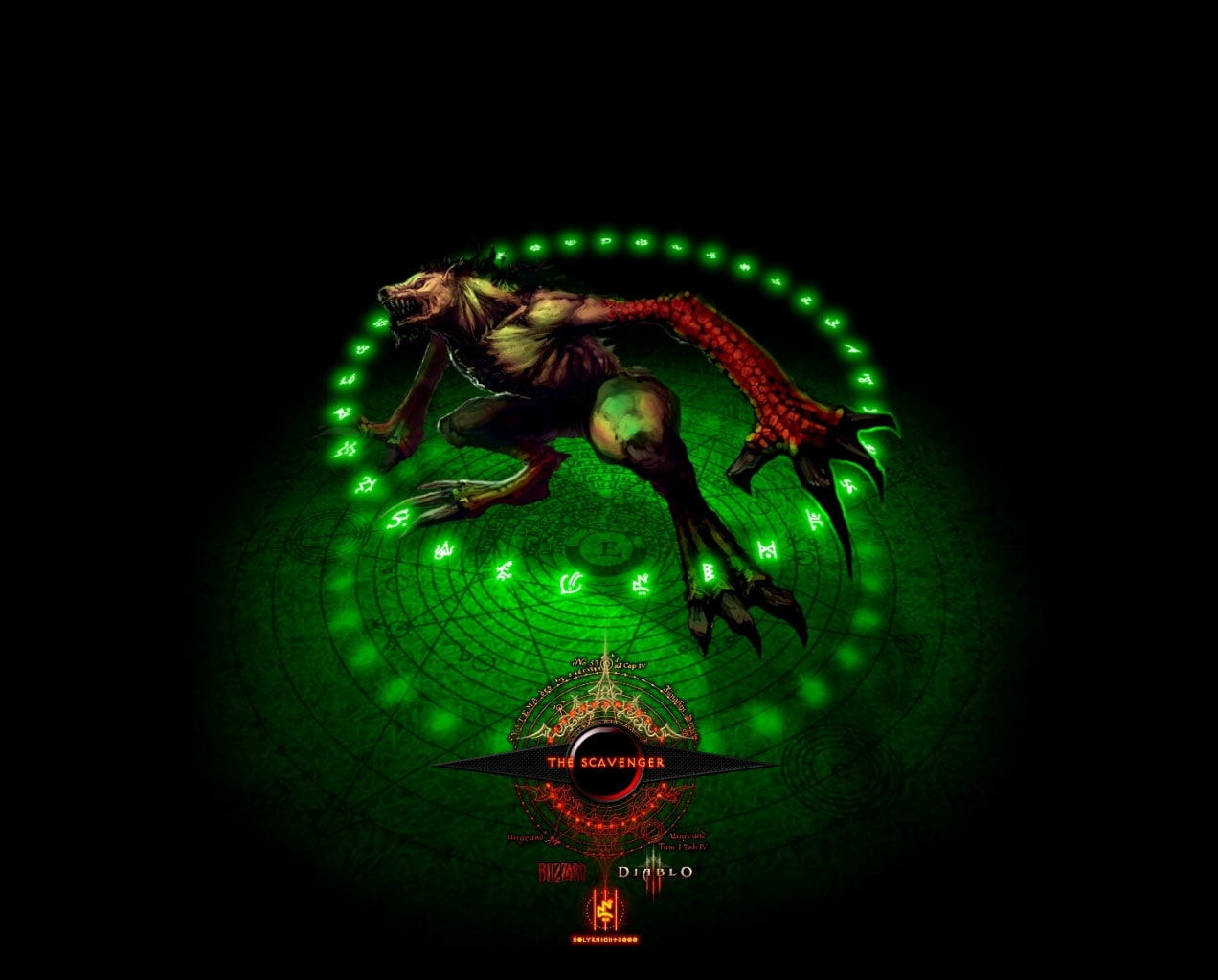 Diablo 3 Windows 7 Theme