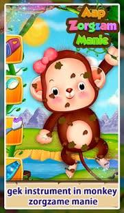 Mono que cuida Mania