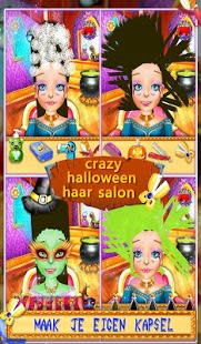 De Halloween Hair Salon