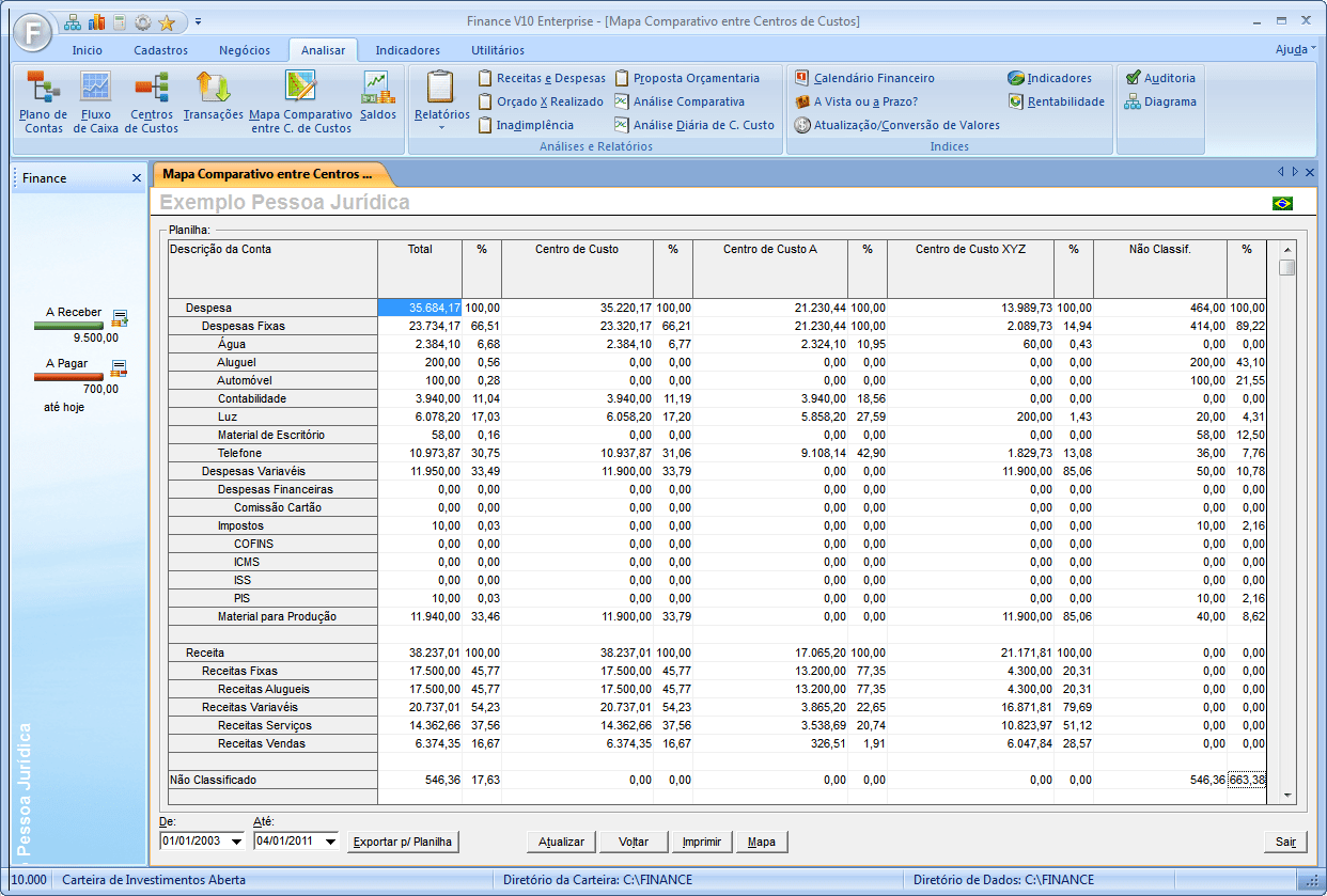 New Finance V10 Enterprise