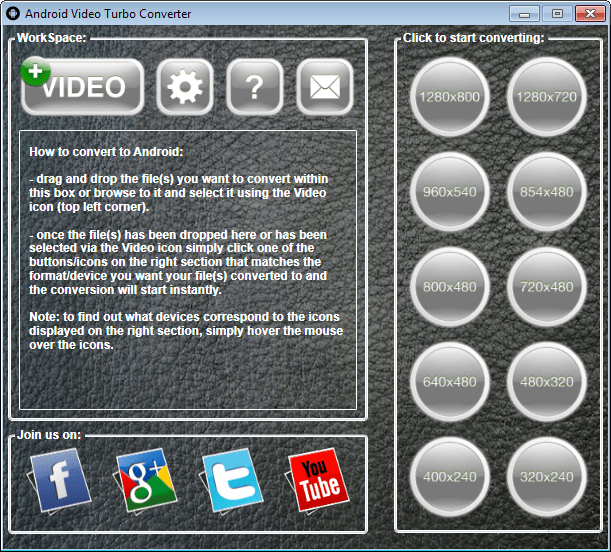 Android Video Turbo Converter