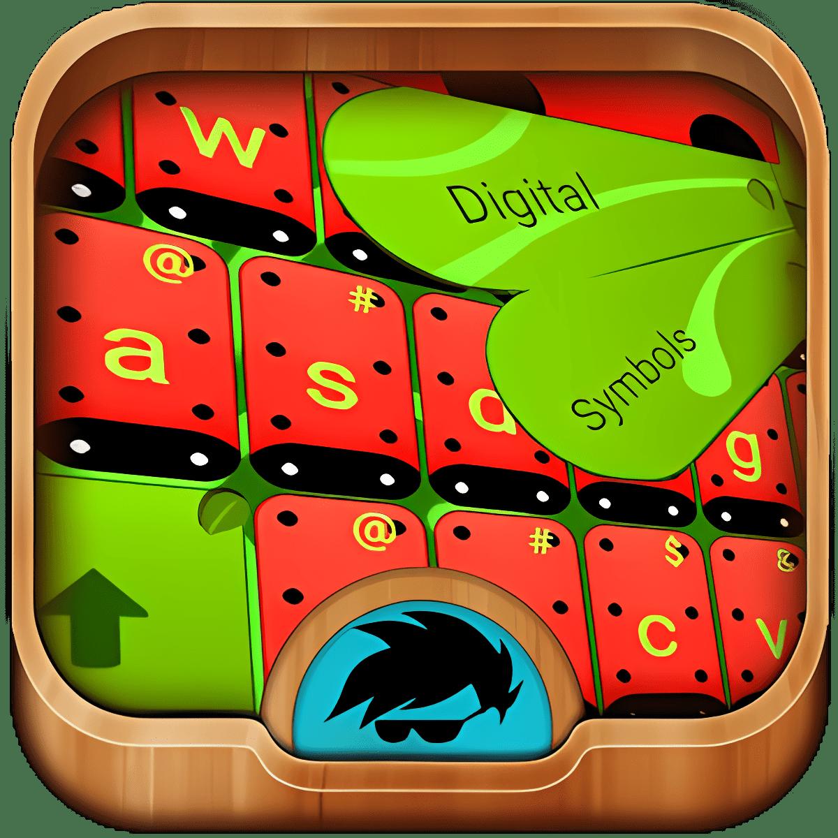 Ladybug Keyboard Theme