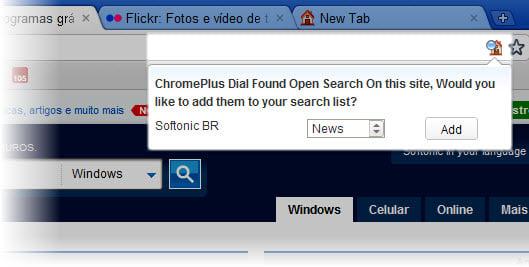 ChromePlus Dial