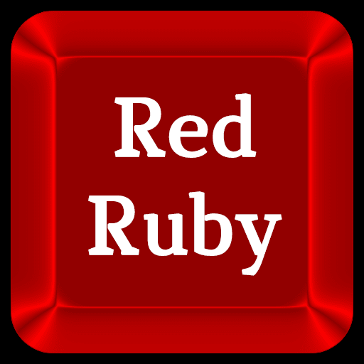 Red Ruby Keyboard Skin
