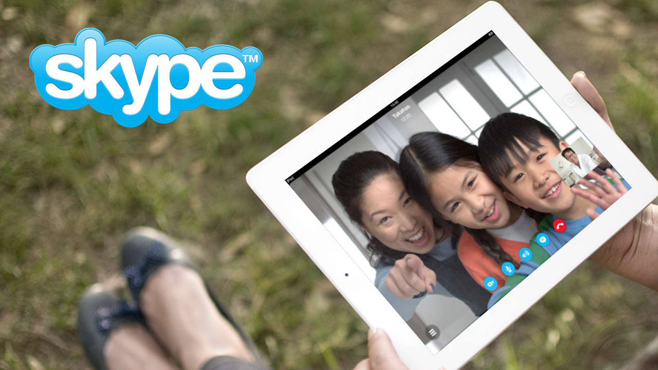Skype na iPad