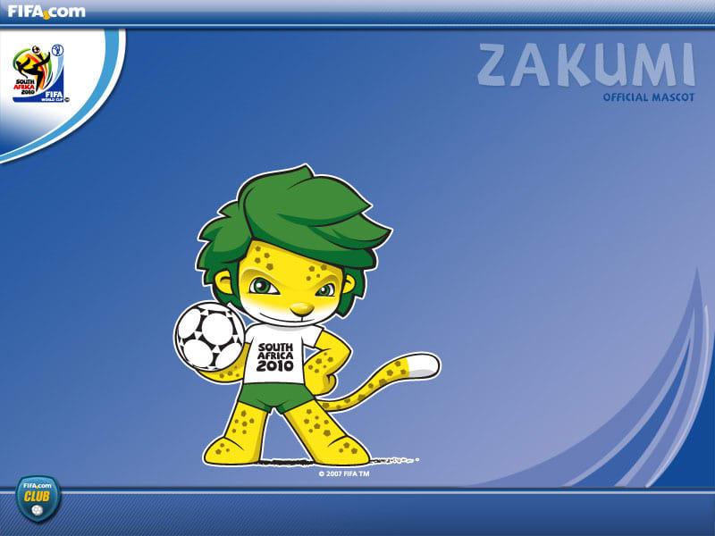 Mascote da Copa 2010 Papel de Parede