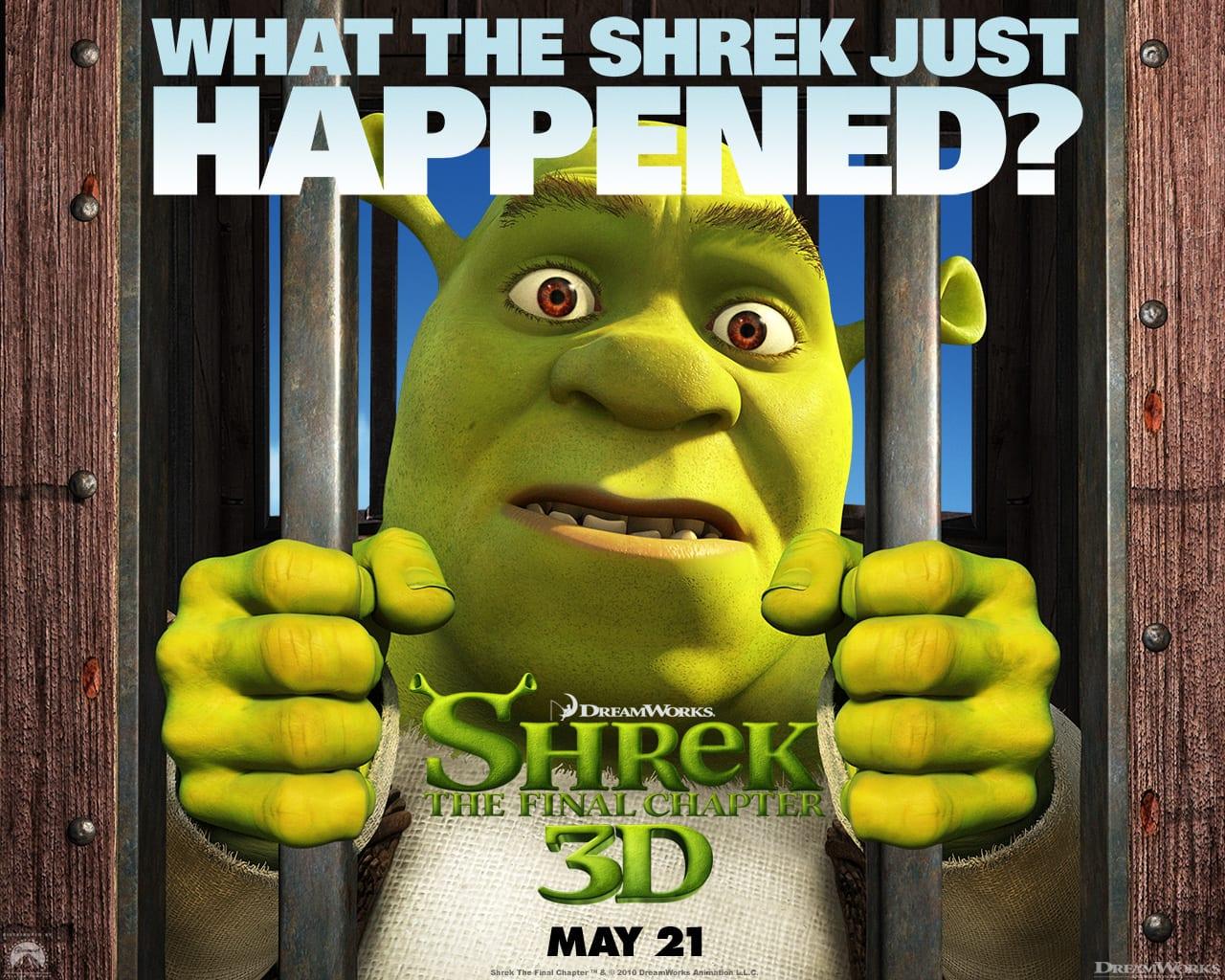 Tapeta Shrek 4 - Ostatni rozdział