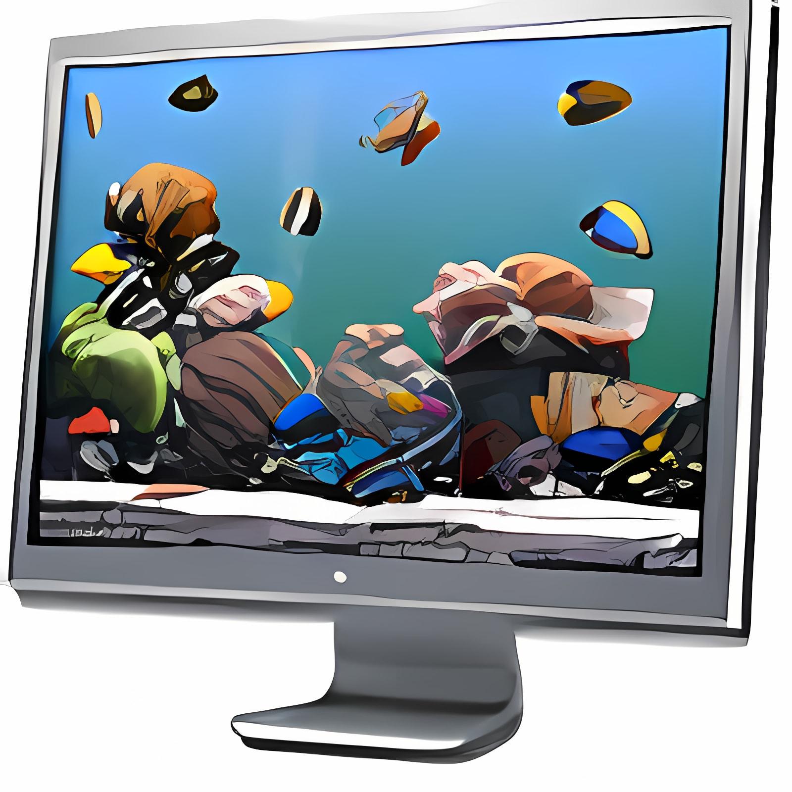 SereneScreen Marine Aquarium + Time 3.0