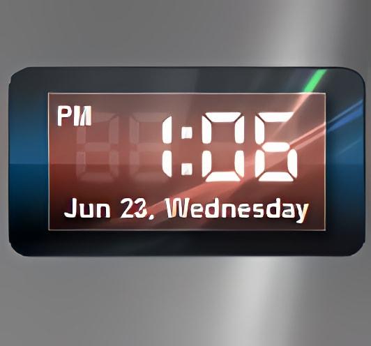 ActiveX Clock