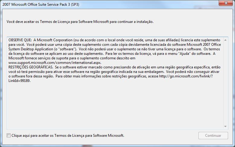 Microsoft Office 2007 Service Pack 3