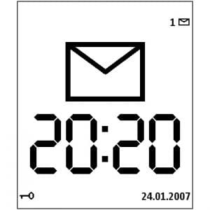 Large Time Screensaver