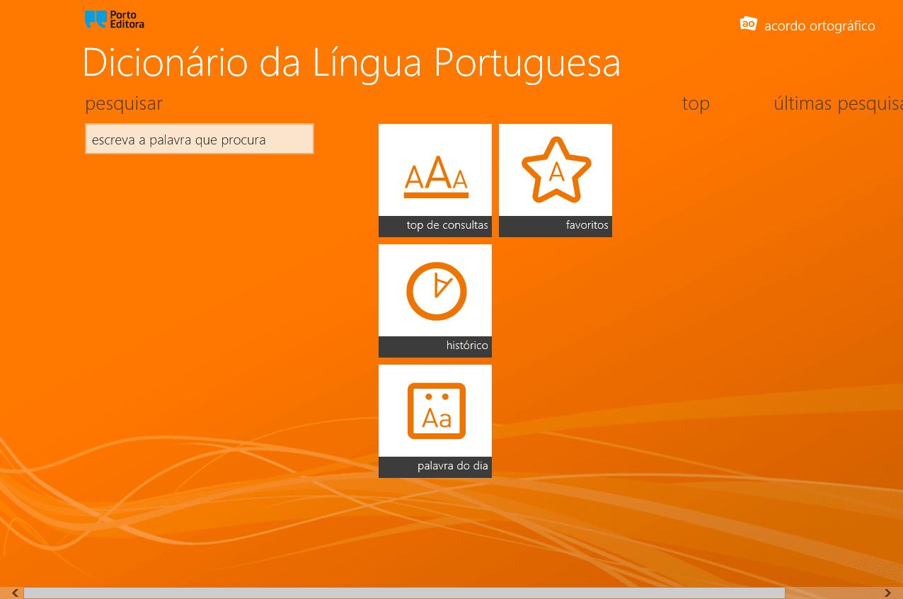 Dicionário da Língua Portuguesa Porto Editora