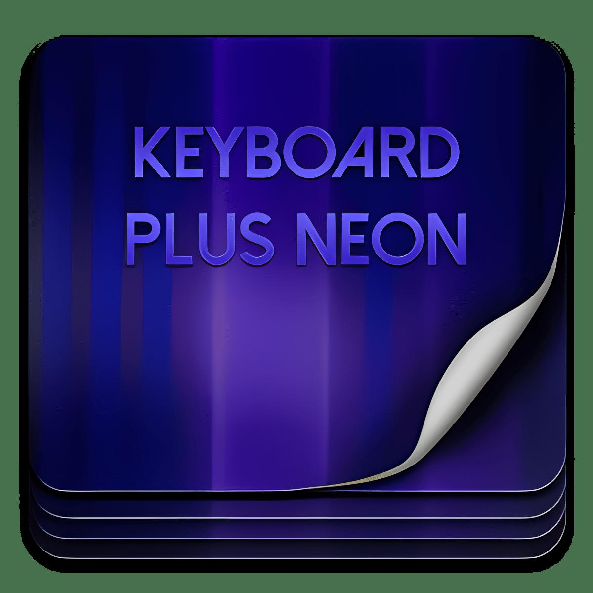 Keyboard Plus Neon