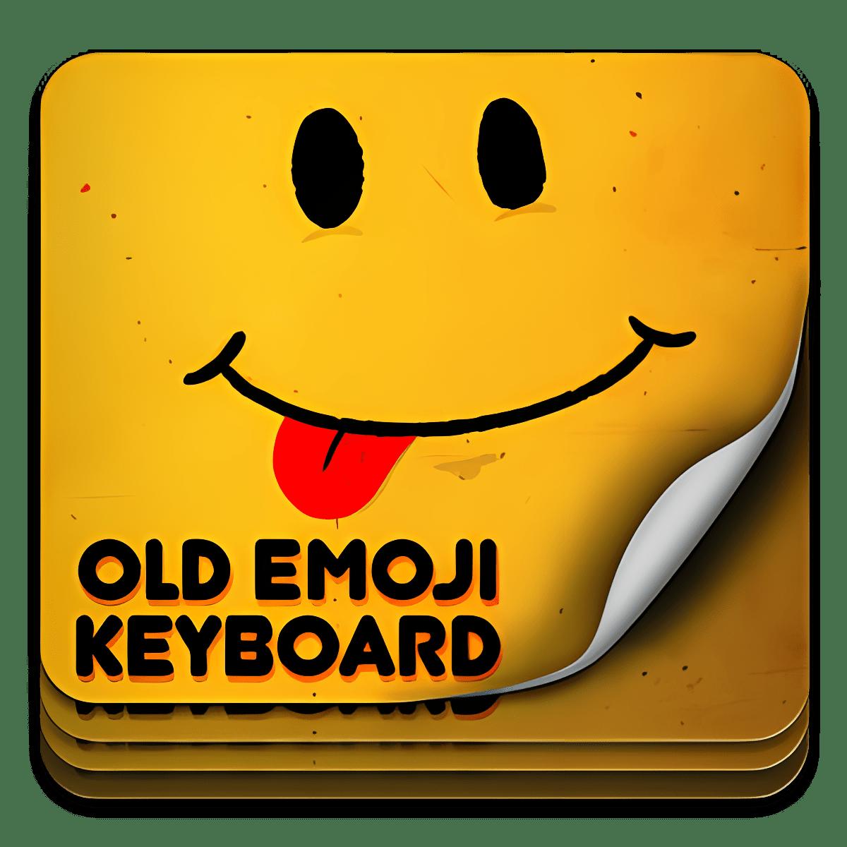 Antiguo teclado Emoji