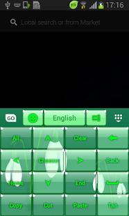 GO Keyboard Snowdrop temático