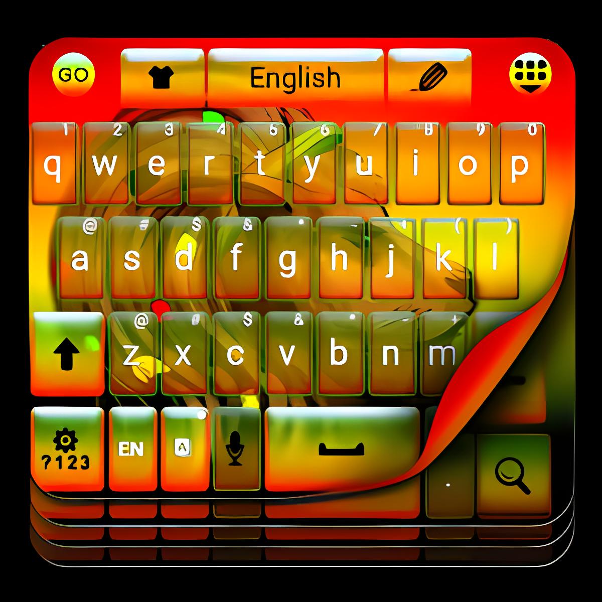 Rasta Lion teclado