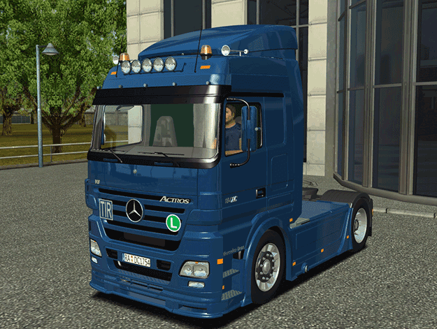 Euro Truck Simulator Mercedes Benz Actros MP1 & MP2 Megaspace Mod
