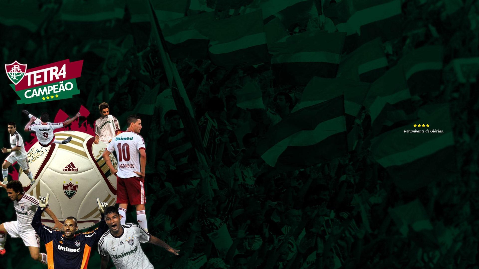 Papel de Parede Fluminense Tetr4 Campeão