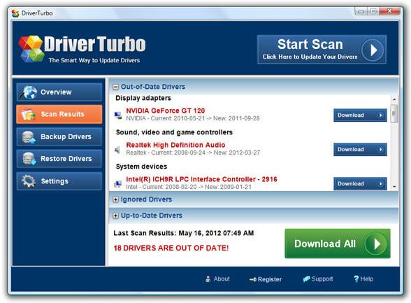 Driver Turbo