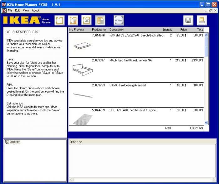 Ikea Progetta La Tua Camera Da Letto : Ikea home planner bedroom download