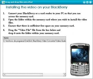OneClick BlackBerry Video Converter