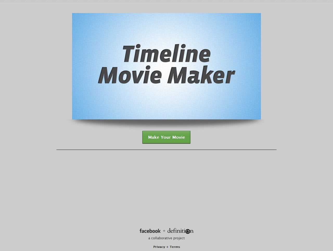 Timeline Movie Maker