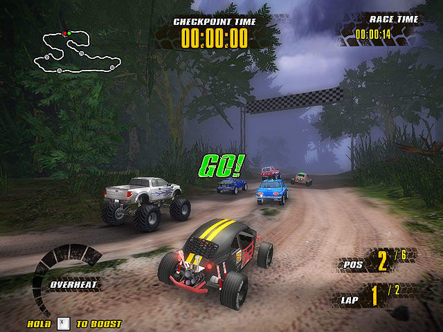 Extreme Jungle Racers 1.33