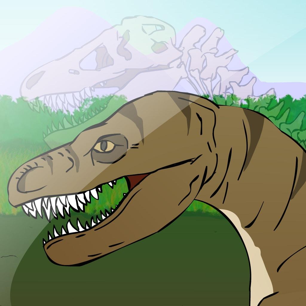 Excavación de Dinosaurio T-Rex