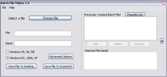 Batch File Maker