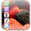 Win Iphone Theme Berry Fruit  (BlackBerry)