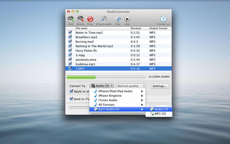 iAudioConverter for Mac