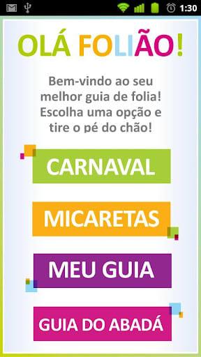 Guia Folia Carnaval 2012