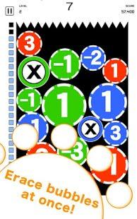 Bubble10 - calc action game-