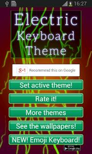 El tema del teclado eléctrico