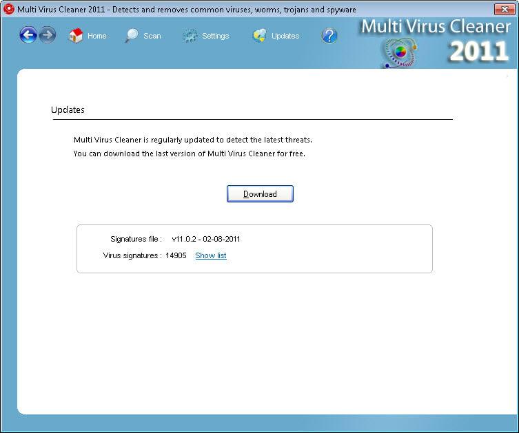 Multi Virus Cleaner 2011
