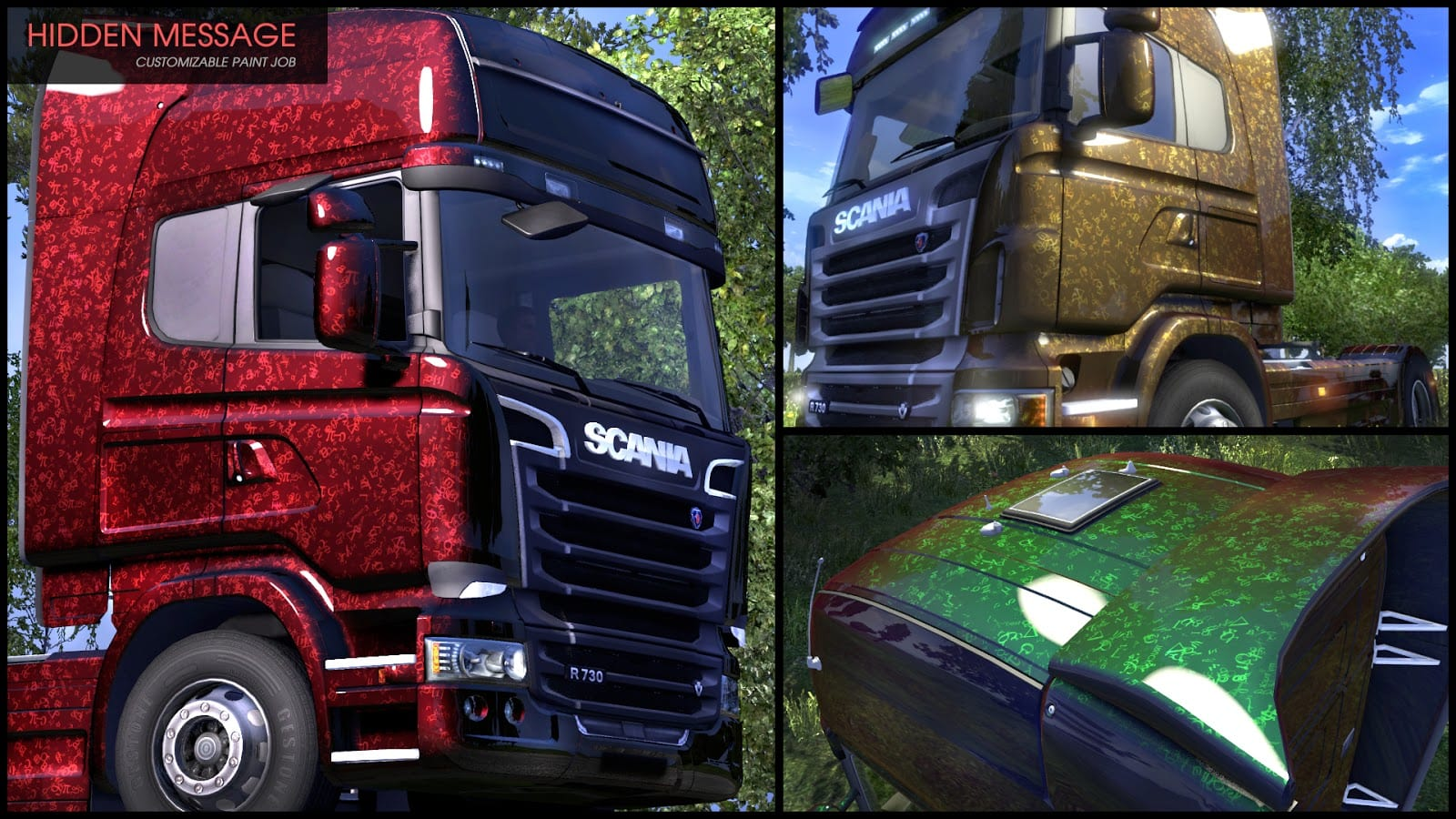 Euro Truck Simulator 2 - Flip Paint Designs