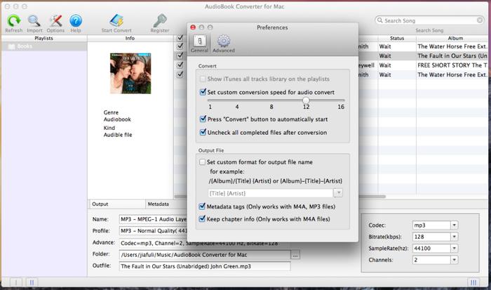 Mac AudioBook Converter