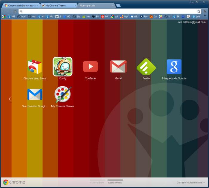 Meu Tema do Chrome