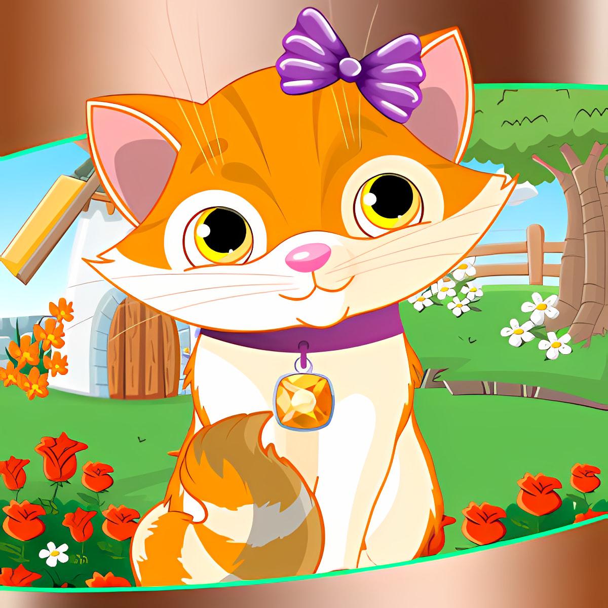 Kitten Dress Up Games