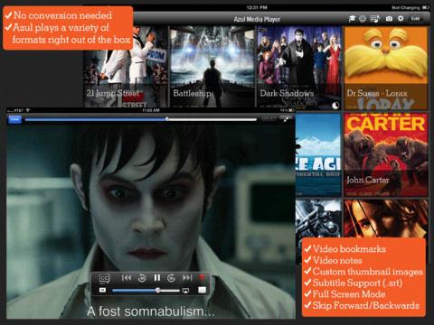 Azul Media Player