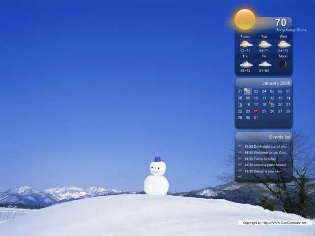 Cool Calendar